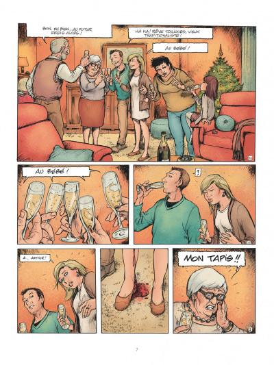 Page 7 Horizontale - journal d'une grossesse allongée