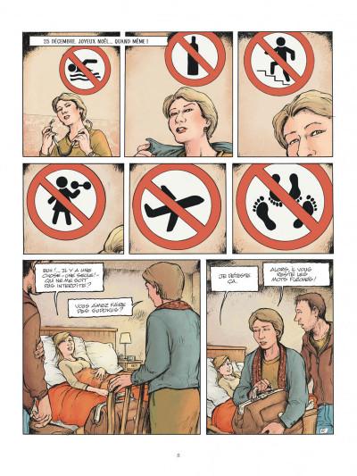 Page 8 Horizontale - journal d'une grossesse allongée