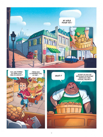 Page 3 Monster délices tome 1