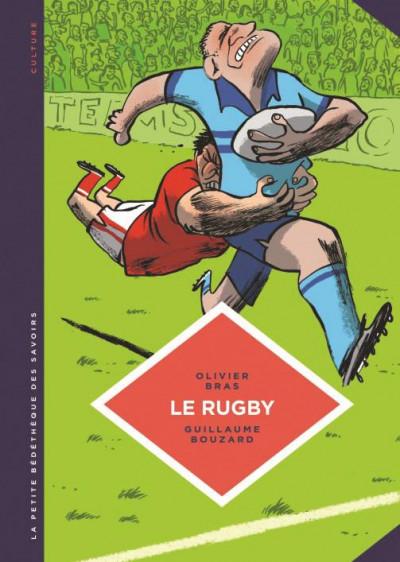 Couverture La petite bédéthèque des savoirs tome 15 - Le rugby