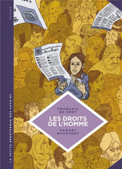 Couverture La petite bédéthèque des savoirs tome 16 - Les droits de l'homme