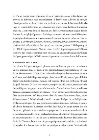 Page 6 La petite bédéthèque des savoirs tome 16 - Les droits de l'homme