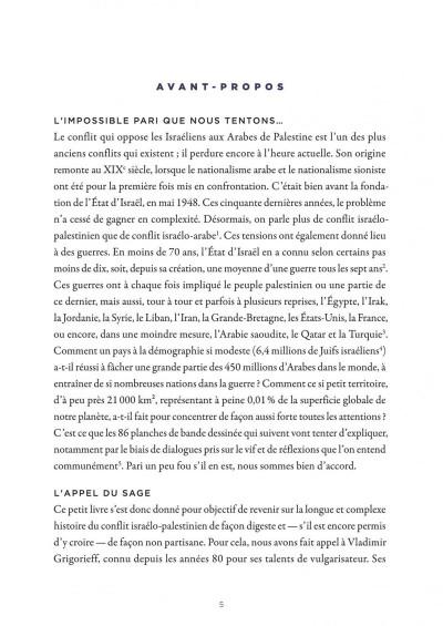 Page 4 La petite bédéthèque des savoirs tome 18 - Le conflit israélo-palestinien