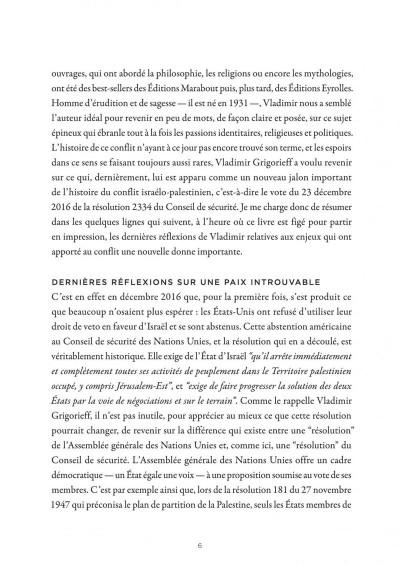 Page 5 La petite bédéthèque des savoirs tome 18 - Le conflit israélo-palestinien