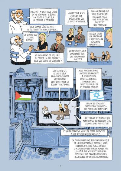 Page 9 La petite bédéthèque des savoirs tome 18 - Le conflit israélo-palestinien