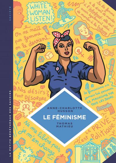 Couverture La petite bédéthèque des savoirs tome 11 - le féminisme