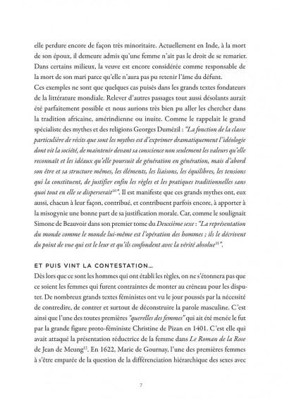 Page 7 La petite bédéthèque des savoirs tome 11 - le féminisme