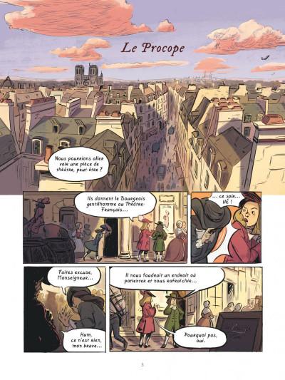 Page 2 Dans les cuisines de l'histoire tome 2 - À la table du roi Soleil
