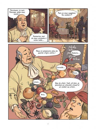 Page 3 Dans les cuisines de l'histoire tome 2 - À la table du roi Soleil