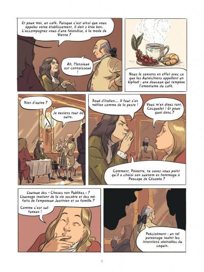 Page 4 Dans les cuisines de l'histoire tome 2 - À la table du roi Soleil