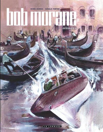 Couverture Bob Morane - intégrale nouvelle version tome 3