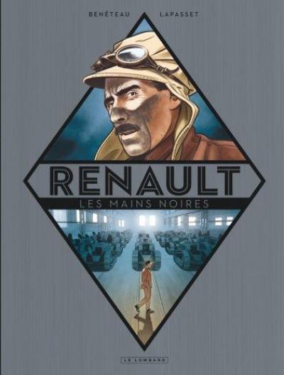 Couverture Renault, les mains noires + ex-libris offert