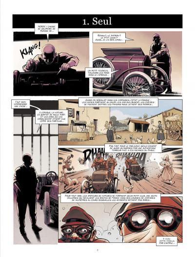 Page 4 Renault, les mains noires + ex-libris offert