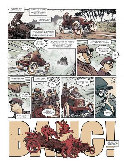 Page 5 Renault, les mains noires + ex-libris offert