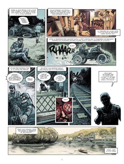 Page 6 Renault, les mains noires + ex-libris offert