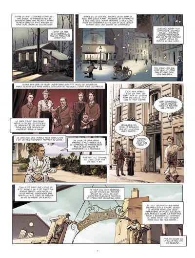 Page 8 Renault, les mains noires + ex-libris offert