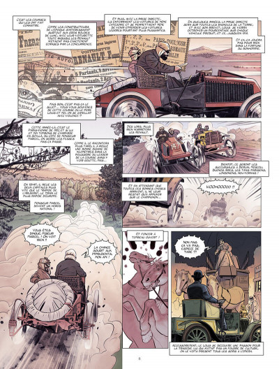 Page 9 Renault, les mains noires + ex-libris offert