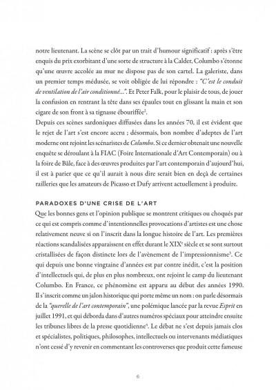 Page 6 La petite bédéthèque des savoirs tome 9 - l'artiste contemporain