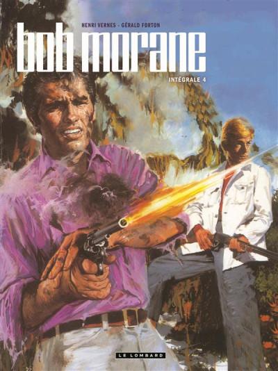 Couverture Bob Morane - intégrale nouvelle version tome 4