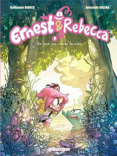 Couverture Ernest et Rebecca tome 8