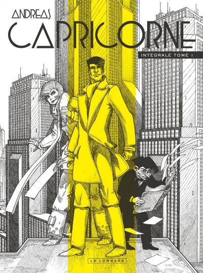 Couverture Capricorne - intégrale tome 1