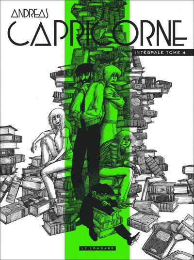 Couverture Capricorne - intégrale tome 4