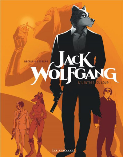 Couverture Jack Wolfgang tome 1 + ex-libris offert