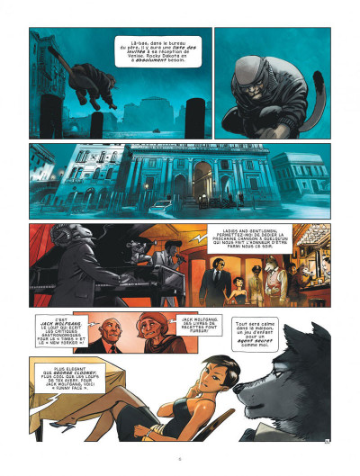 Page 6 Jack Wolfgang tome 1 + ex-libris offert
