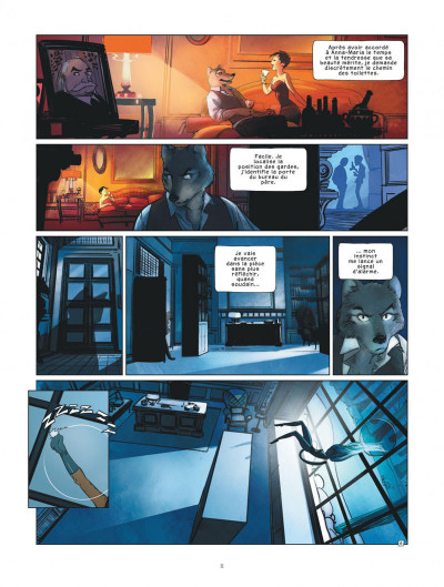 Page 8 Jack Wolfgang tome 1 + ex-libris offert