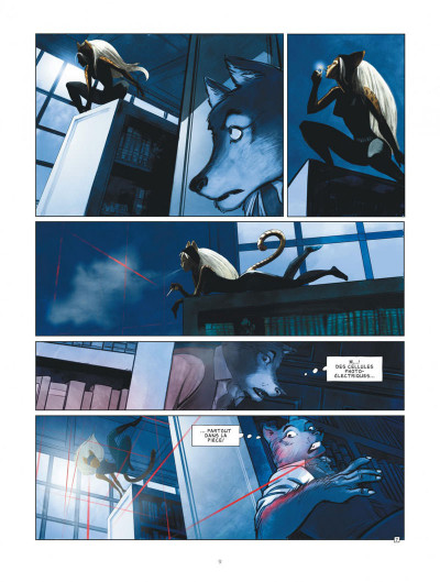 Page 9 Jack Wolfgang tome 1 + ex-libris offert