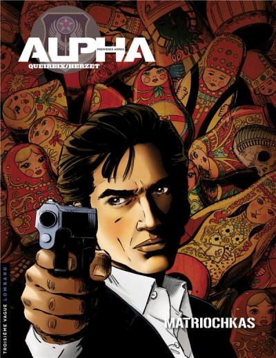 Couverture Alpha premières armes tome 4