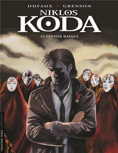 Couverture Niklos Koda tome 15 + ex-libris offert