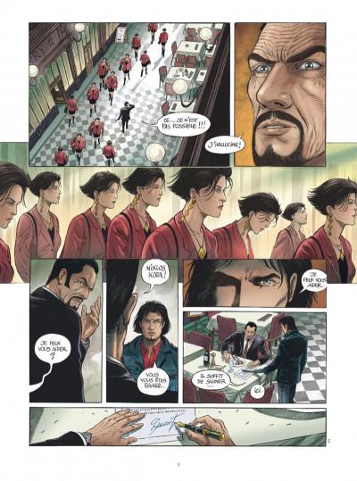 Page 9 Niklos Koda tome 15 + ex-libris offert
