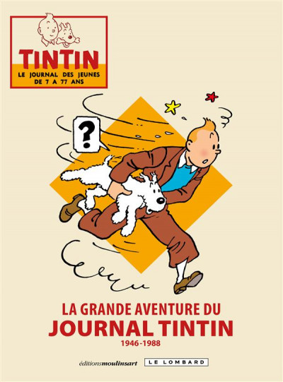 Couverture La grande aventure du journal Tintin