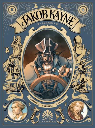 Couverture Jakob Kayne tome 1 + ex-libris offert