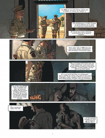 Page 3 The regiment tome 1 + ex-libris offert