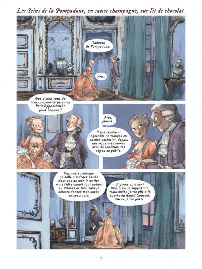 Page 2 Dans les cuisines de l'histoire tome 3