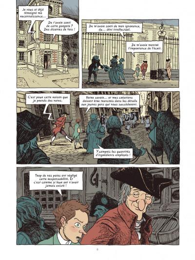 Page 5 Dans les cuisines de l'histoire tome 4