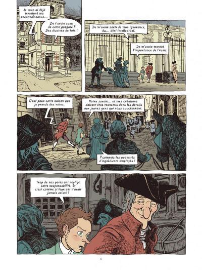 Page 6 Dans les cuisines de l'histoire tome 4