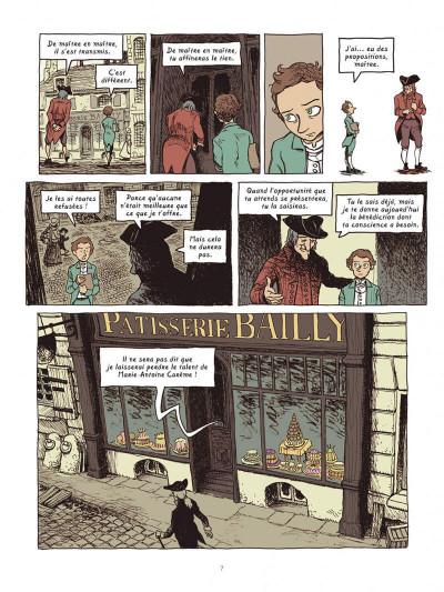 Page 7 Dans les cuisines de l'histoire tome 4