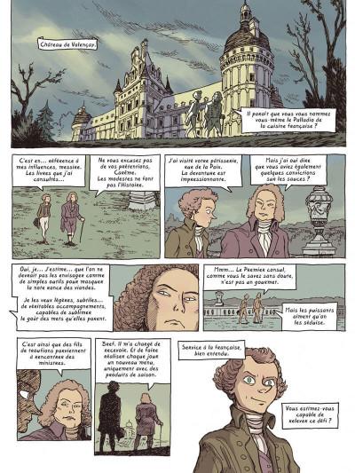Page 9 Dans les cuisines de l'histoire tome 4