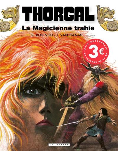 Couverture Thorgal tome 1 - la magicienne trahie (éd. promo)