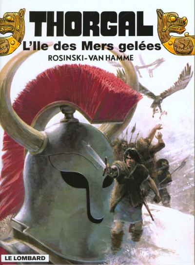 Couverture Thorgal tome 2 - l'ile des mers gelées (éd. promo)