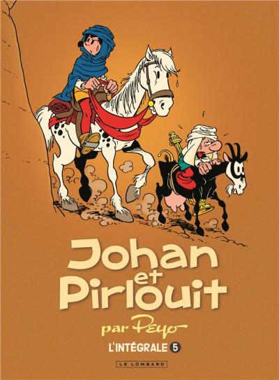 Couverture Johan et Pirlouit - intégrale tome 5