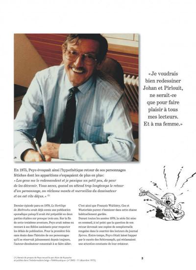 Page 3 Johan et Pirlouit - intégrale tome 5