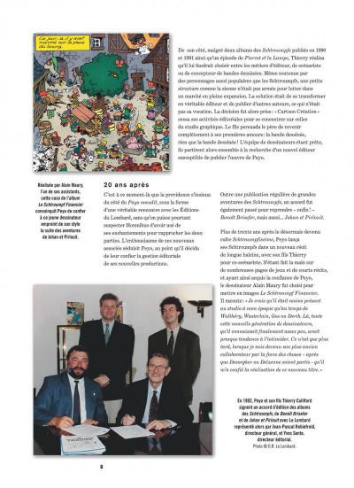 Page 8 Johan et Pirlouit - intégrale tome 5