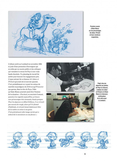 Page 9 Johan et Pirlouit - intégrale tome 5