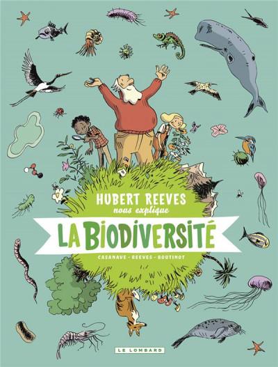 Couverture Hubert Reeves nous explique tome 1 - La biodiversité