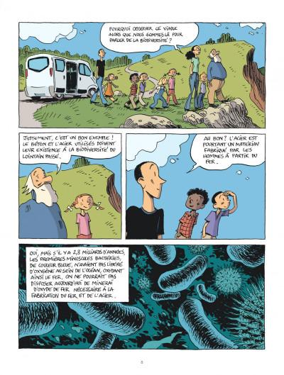 Page 8 Hubert Reeves nous explique tome 1 - La biodiversité