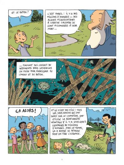 Page 9 Hubert Reeves nous explique tome 1 - La biodiversité